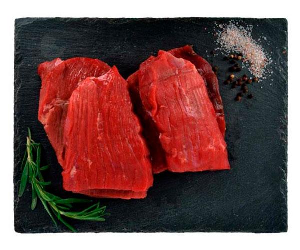 Бифштекс охлажденный из мяса молодых бычков АШАН
