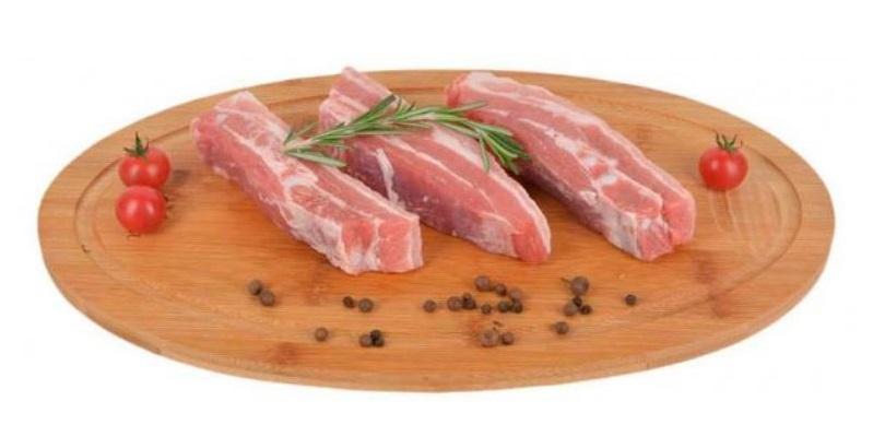 Грудинка свиная охлажденная на хрящиках АШАН