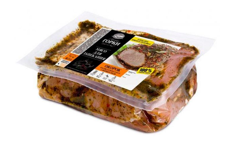 Окорок свиной охлажденный для запекания «Ближние горки»