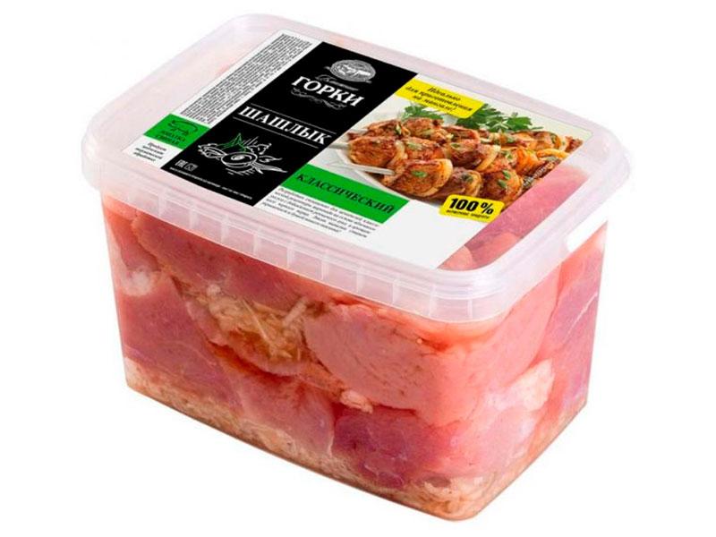 Шашлык из свинины Классический охлажденный «Ближние горки»