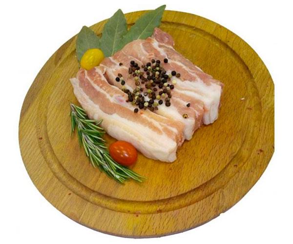 Свинина на ребрах охлажденная АШАН