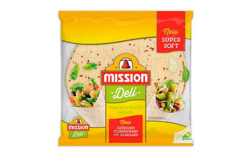 Лепешки пшеничные со злаками Mission